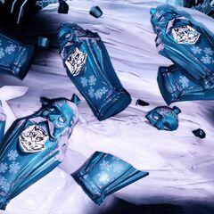 <i>Envases vacíos de Anciano invernal.</i>