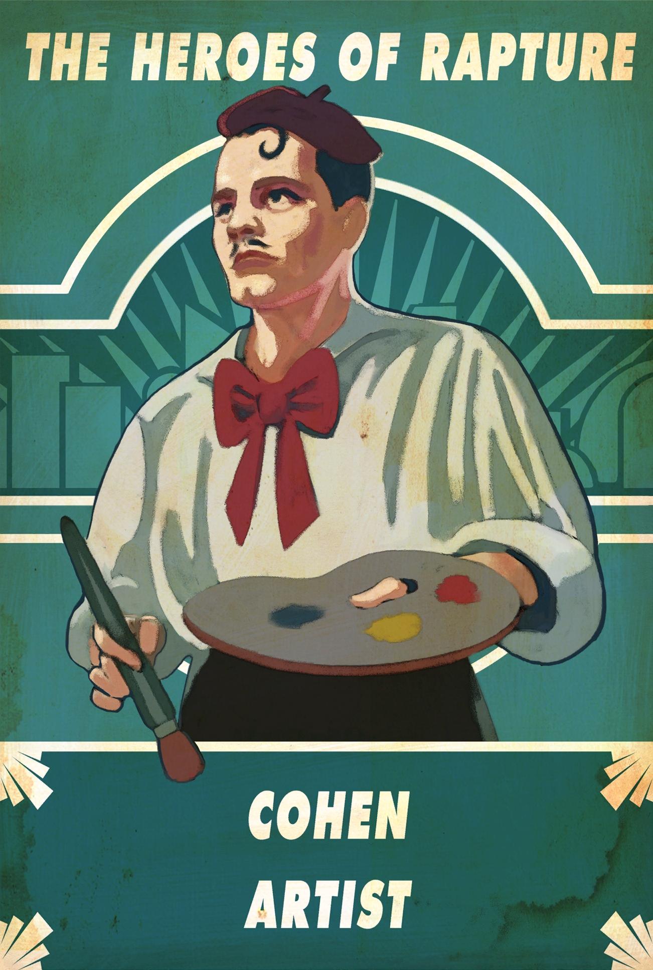 Sander cohen bioshock wiki fandom powered by wikia - Bioshock wikia ...