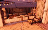 BioI Battleship Bay Upper Boardwalk Columbia Chronicles Stall