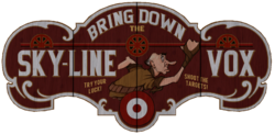 Bring Down the Sky Line Vox sign
