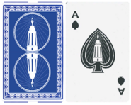 Lighthouse Ace playing card