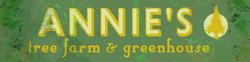 Annie's Tree Farm sign