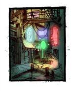 BioShock Neptune's Bounty Concept Art