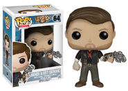 Booker DeWitt Sky-Hook Pop figure