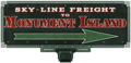 Sky Line Freight to Monument Island sign.png