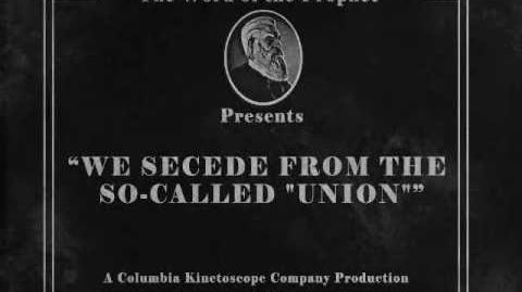 """BioShock Infinite We secede from the so-called """"Union"""""""