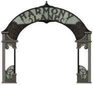 Harmony Lane sign