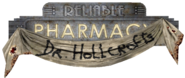 Dr Hollcrofts Pharmacy Sign
