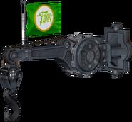 Freight hook model render
