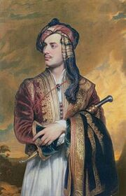 210px-Lord Byron in Albanian dress