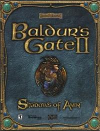 Baldur's Gate II - Shadows of Amn Coverart