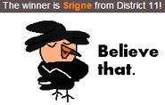 Srigne's Victory Pose