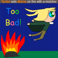 Turbo Kills Mario