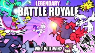 Legendary & Mythical Pokemon Battle Royale ANIMATED 🌍
