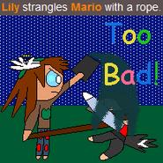 Lily Kills Mario
