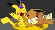 Pikachu's PokeCelebration