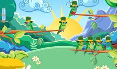 Una jaula de St. Patrick's Bird