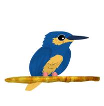 Martin Pescador Azul