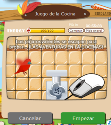 Cocina game