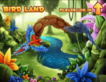 BirdLand myspace logo