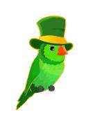 St. Patrick's Bird