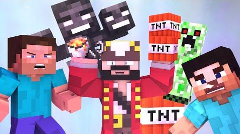 BEST OF MINECRAFT GRIEFING AND TROLLING 2015