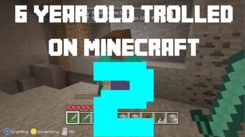 6 year old Trolled on Minecraft 2
