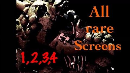 FNAF ALL 41 RARE SCREENS! (FNAF 1,2,3,4 RARE SCREENS!)