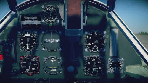 Bf109E3 cokpit top