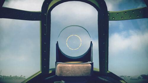 F4F4 cokpit sight