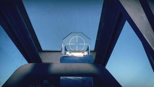 Fw190D12 cokpit sight
