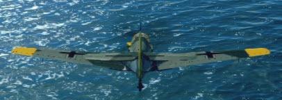 Bf109E3 back
