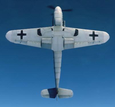 Bf109G2 bottom
