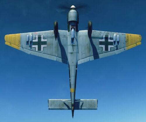 Ju87B2 bottom