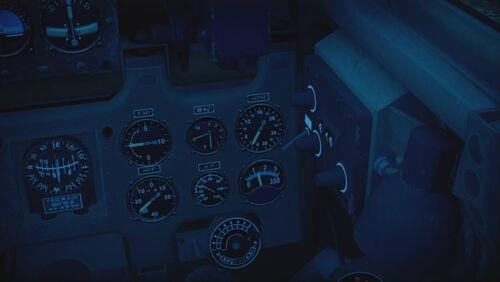 A6M3 cokpit right