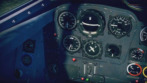 Me262A1a cokpit left