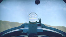 Yak3 cokpit sight