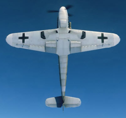 Bf109F4Tp bottom