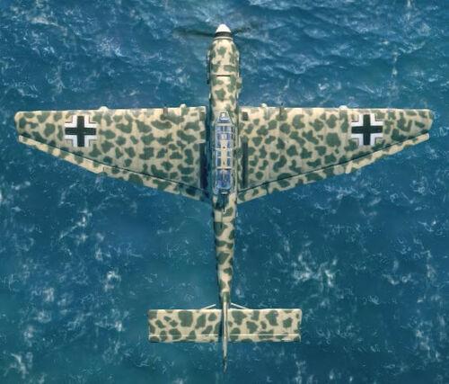 Ju87D top