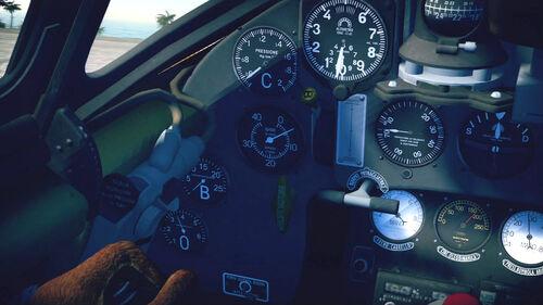MC202 cokpit left