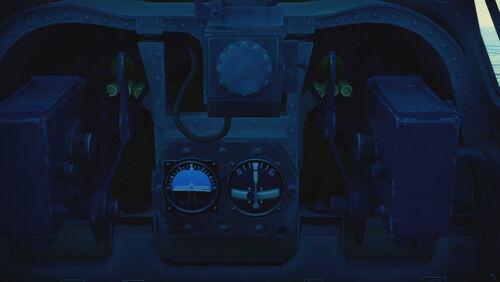 A6M2N cokpit top
