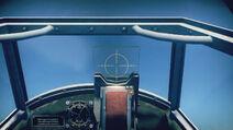 Bf109E3 cokpit sight