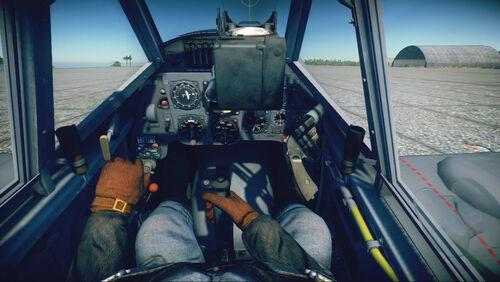 Bf109G6 cokpit default