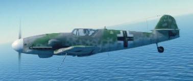 Bf109G10 left