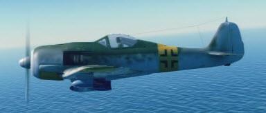 Fw190F8 left