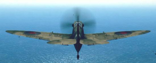 SpitfireMkIX back