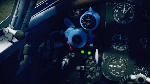 Yak7B cokpit left