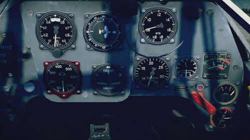 Bf109F4 cokpit up
