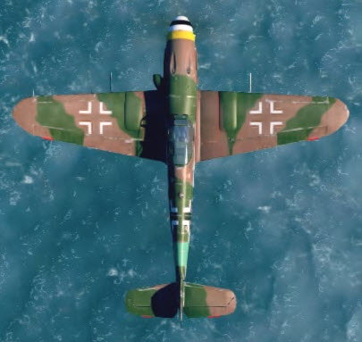 Bf109K4 top