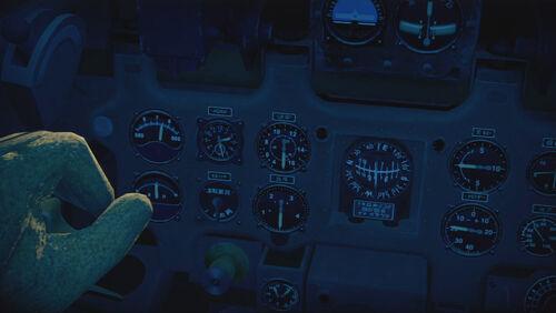 A6M2 cokpit left